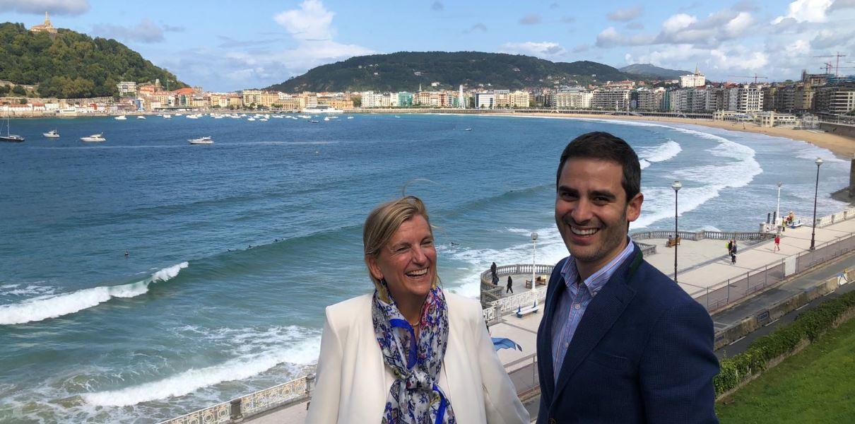 María Parga y Oscar Lage
