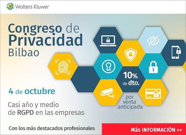 Congreso Privacidad Bilbao